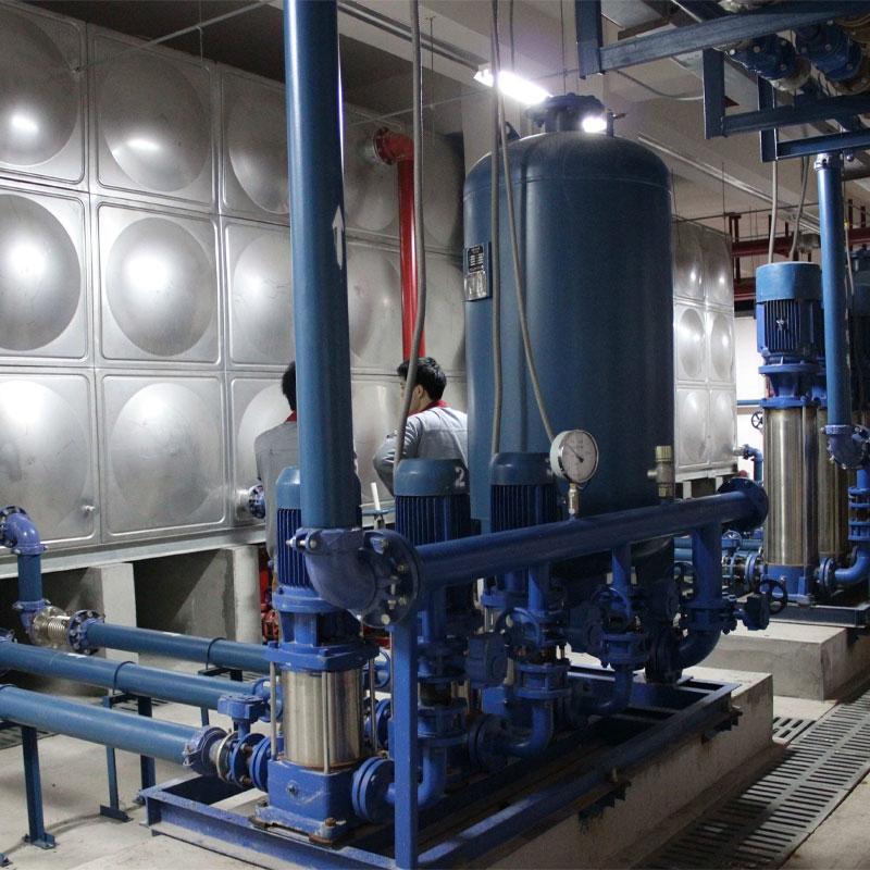 无负压供水设备案例