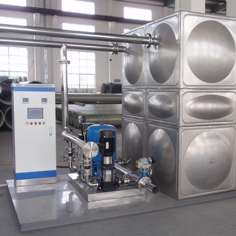 无负压变频供水设备案例